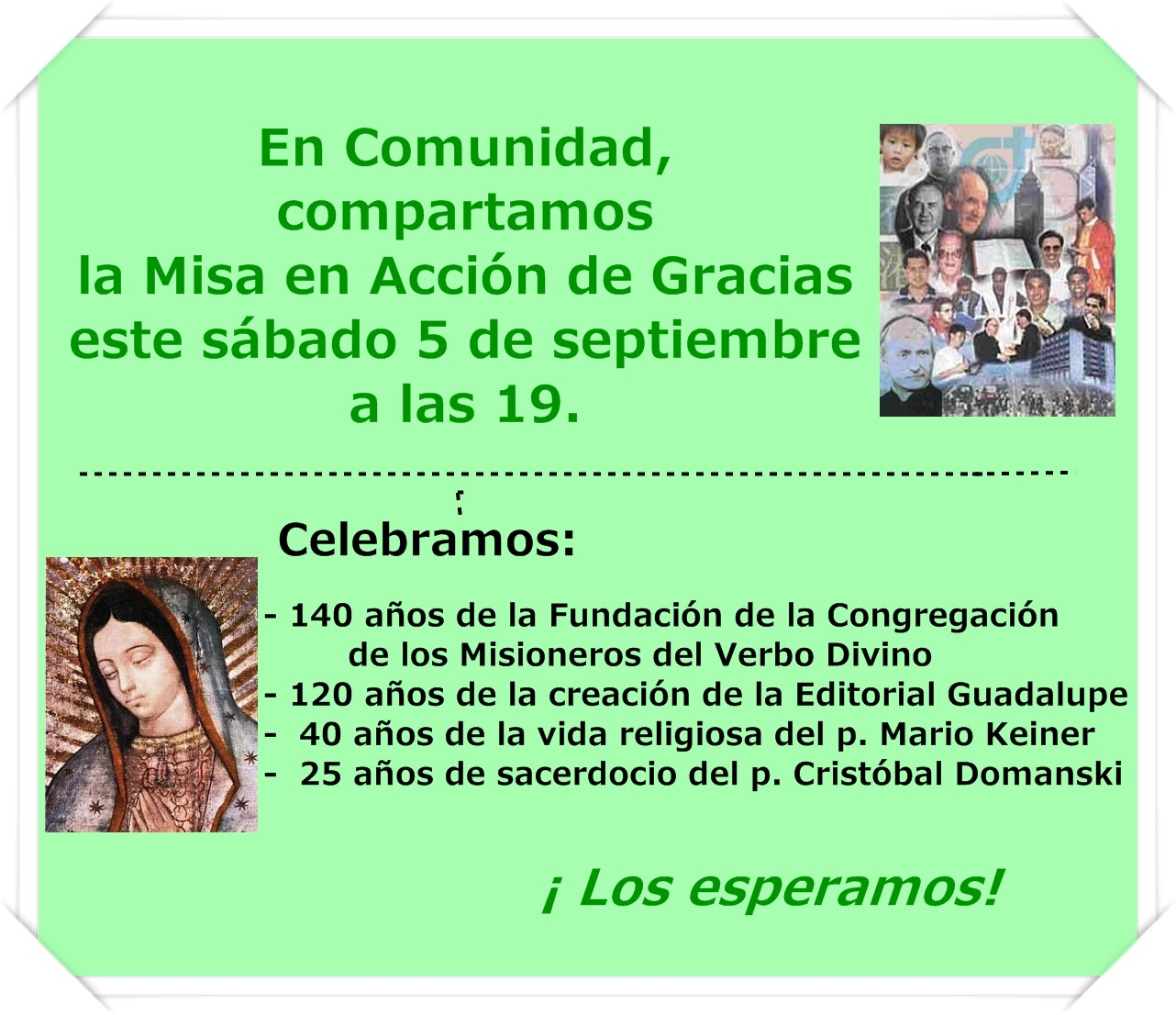 Cartel Misa 592015